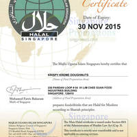 Read more about Krispy Kreme Singapore Now Halal Certified 15 Sep 2015