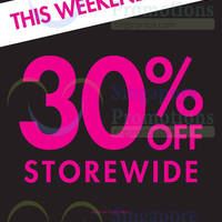 Read more about La Senza 30% OFF Storewide Promo 11 - 13 Sep 2015