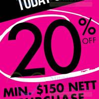 Read more about La Senza 20% Off Storewide Promo 27 Sep 2015