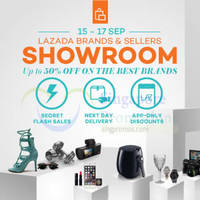 Read more about Lazada Up to 50% Off Brands & Sellers Showroom 15 - 17 Sep 2015