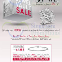 Read more about Lee Hwa Jewellery Jewel Vault Sale @ Mandarin Orchard 24 - 27 Sep 2015