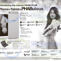 Read more about Lenovo New PHAB Plus Tablet 20 Sep 2015