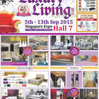 Luxury Living 2015 @ Singapore Expo 5 - 13 Sep 2015