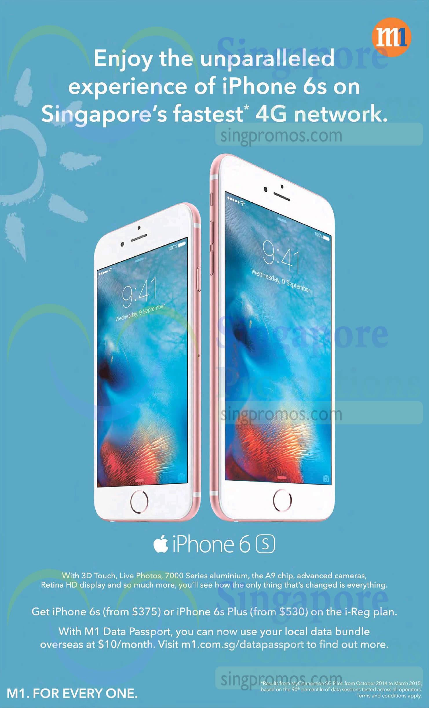 M1 Apple iPhone 6S, Apple iPhone 6S Plus
