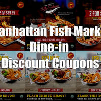 Read more about Manhattan Fish Market Dine-in Discount Coupons 25 Sep - 15 Nov 2015