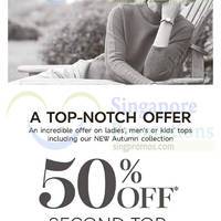 Read more about Marks & Spencer 50% Off 2nd Top 23 Sep 2015