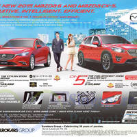 Read more about Mazda 6 Sedan Demo Unit & Mazda CX-5 SUV Offers 26 Sep 2015