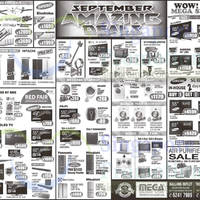 Mega Discount Store TVs, Washers, Hobs & Other Appliances Offers 5 Sep 2015