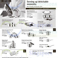 WMF Kitchenware Offers @ Metro 5 - 20 Sep 2015