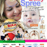 Mums & Babes Baby Spree @ United Square 22 - 27 Sep 2015