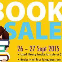 Read more about NLB fr $1 Book Sale @ Singapore Expo 26 - 27 Sep 2015