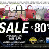 Read more about Nimeshop Branded Handbags Sale @ Mandarin Orchard 3 Oct 2015