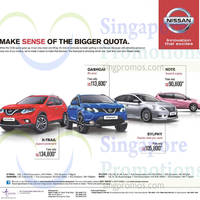 Read more about Nissan X-Trail, Qashqai, Note & Sylphy Offers 26 Sep 2015