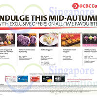 OCBC Mooncakes Offers For OCBC Cardmembers 3 Sep - 27 Sep 2015