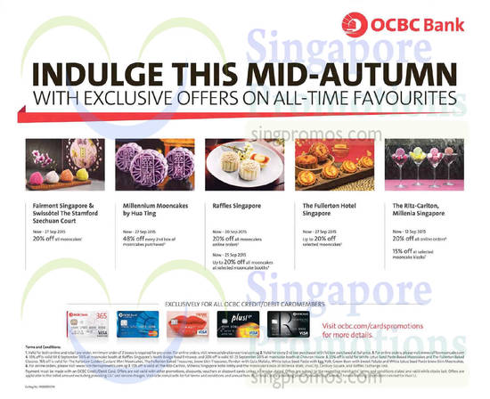 OCBC Mooncakes 2 Sep 2015