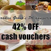 Read more about Paradise Group of Restaurants 42% Off Cash Vouchers Deal 8 Sep 2015