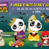 Read more about River Safari FREE Kids Admission Safari Boo Promotion (Fri to Sun aft 6pm) 23 Oct - 1 Nov 2015