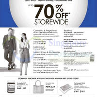 Robinsons Up To 70% Off Storewide 4 - 6 Sep 2015