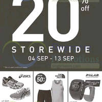 Running Lab 20% Off Storewide End of Season Sale 4 - 13 Sep 2015
