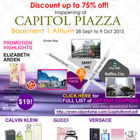 Read more about SD Perfume Mega Perfume Fair @ Capitol Piazza 28 Sep - 9 Oct 2015