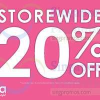 Read more about Sasa 20% Off Storewide Promotion 26 - 27 Sep 2015