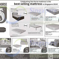 Sea Horse Mattresses & Sofa Offers 3 - 17 Sep 2015