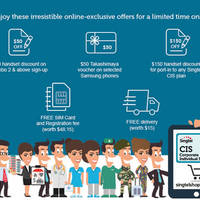Read more about Singtel CIS Online Exclusive Offers 17 - 24 Sep 2015