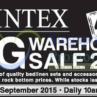 Read more about Sintex Warehouse Sale 24 - 27 Sep 2015