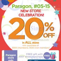 Read more about Stride Rite 20% OFF New Store Celebration Promotion 4 - 13 Sep 2015