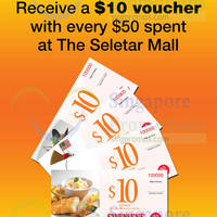Read more about Swensen's Free $10 Voucher With $50 Spend @ Seletar Mall 21 Sep - 30 Nov 2015