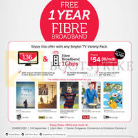 Read more about Singtel COMEX Broadband, Mobile & TV Offers 3 - 6 Sep 2015