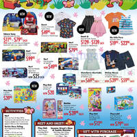 Takashimaya Holiday Fun Activities & Promotions 5 - 13 Sep 2015
