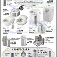 Zojirushi Kitchenware Offers @ Takashimaya 5 - 17 Sep 2015