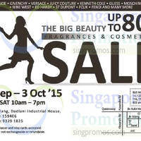 Read more about The Big Beauty Fragrances & Cosmetics Sale 30 Sep - 3 Oct 2015