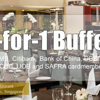 Read more about Tiffany Café & Restaurant 1-for-1 Buffet For DBS / Safra / Citibank / UOB / OCBC Cardmembers From 18 Jan 2016