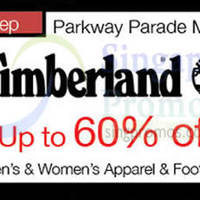 Read more about Timberland Up to 60% Off @ Parkway Parade 4 - 6 Sep 2015