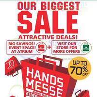 Read more about Tokyu Hands Biggest Sale of the Year @ Westgate 21 - 27 Sep 2015