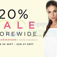 Read more about Tracyeinny 20% Off Storewide Promotion 24 - 27 Sep 2015