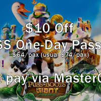 Read more about Universal Studios $10 Off Tickets For MasterCard Cardmembers 6 Sep - 31 Dec 2015