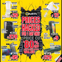 Read more about Courts Up to 80% Off 1-Day Offers 18 Sep 2015