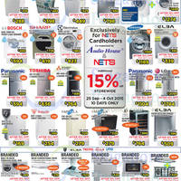 Read more about Audio House TV, Fridges, Washers & Digital Cameras Offers 25 Sep - 4 Oct 2015