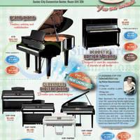 Yamaha piano fair suntec convention centre 12 13 sep 2015 for Yamaha clavinova clp 200 price