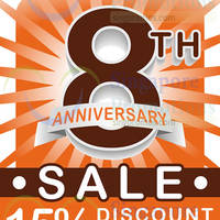 iwannagohome 15% Off Storewide 8th Anniversary Sale 2 - 30 Sep 2015