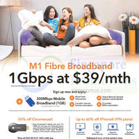 Read more about M1 Home Broadband, Mobile & Other Offers 10 - 16 Oct 2015