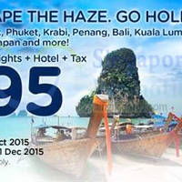 Read more about Air Asia Go 3D2N fr $95/pax Flights, Hotel & Taxes Package Deal 12 - 25 Oct 2015