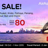 Read more about Air Asia Go fr $80 3D2N Flights, Hotel & Tax Promo 19 Oct - 1 Nov 2015