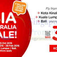 Read more about Air Asia fr $36 all-in Promo Fares 19 - 25 Oct 2015