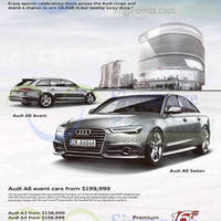 Read more about Audi A6, A3, A4, Q3 & Q5 Offers 10 Oct 2015
