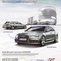 Audi A6, A3, A4, Q3 & Q5 Offers 10 Oct 2015