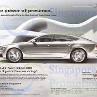 Audi A7 Sportback Price & Features 9 Oct 2015